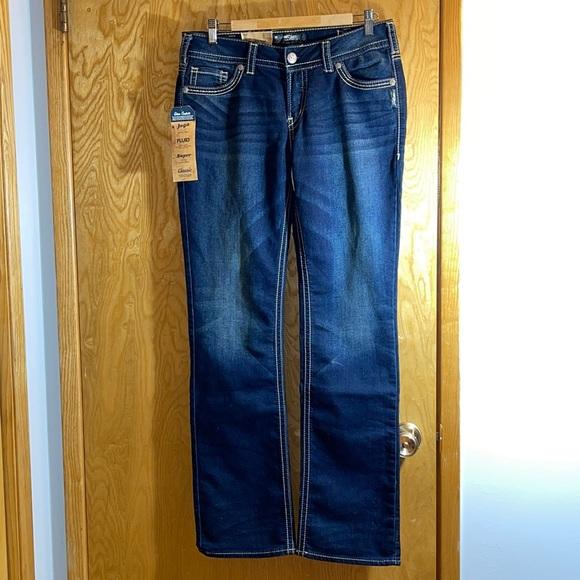 NWT Silver SUKI Joga Jeans